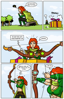 Archery contest comic page 04 by Ritualist