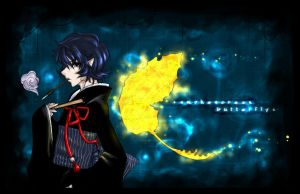smokescreen+butterfly by shiretoko