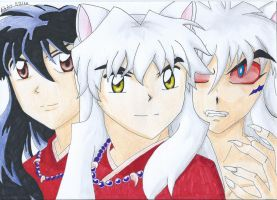Inuyasha - The 2 sides of the same soul by AngelHanna