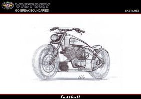 Victory Fastball perspective Sketches 1 by leokvra