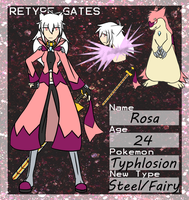 Retype Gates App - Rosa by Daifen