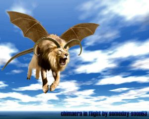 Chimaera in Flight