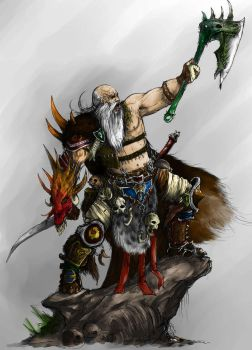 Barbarian - Coloured by Archnagel