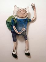 Paper Quilling - Adventure Time - Finn the Human by wholedwarf