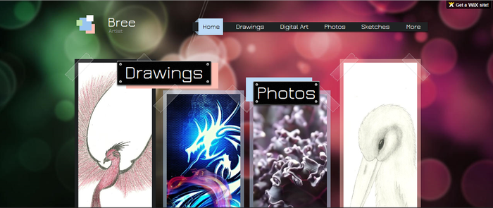 New Website!!! by Bre615