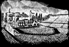 BORN THIS WAY BALL STAGE by GAGAISMYSOUL
