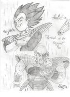 Arrival of the Saiyans!! by Shadowknightxxz