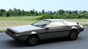 DeLorean 01 by ThunderChildFTC