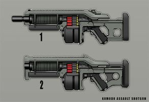 Komodo Assault Shotgun by dfacto