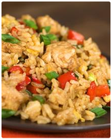 Recipes From Noor Kitchen - Egg Fried Rice by nannudavis