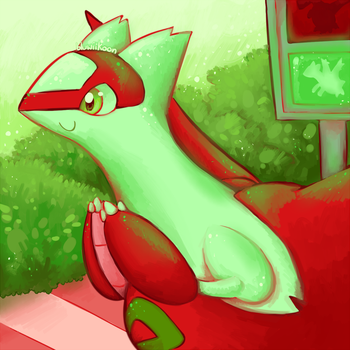 Red light green light by Bluwiikoon