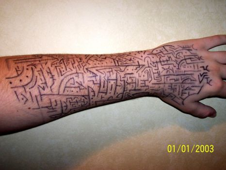Tribal Tech: Arm Design by animeluver1694