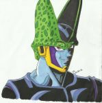 Cell - Fan art by Nessie-Noodlez