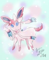Sylveon - Eveelution by CaramelMoelleux