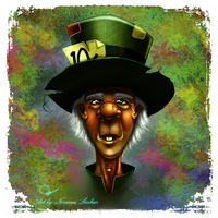 The Mad Hatter by nirman