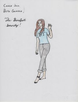 Barefoot Sorority Recruitment by southerncrossfire44
