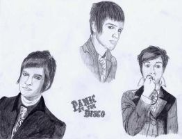 Brendon Urie of PATD by BringTheKaos