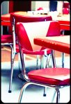 Woody's Red Chairs by myrnajacobs
