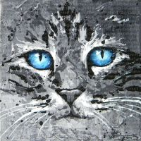 Regard bleu by JessicaSansiquet