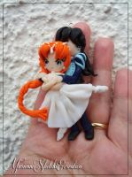 Pendant Commission Princess Tutu by DarkettinaMarienne