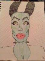 Bride of Frankenstein.  by Lord-Reptile