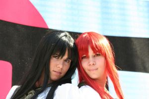 Shana and Shana Flame Haze by MiciaGlo