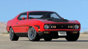 1971 Ford Mustang Mach 1 (Gran Turismo 6) by Vertualissimo