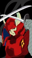 Ronin Warriors - Hector by ShinSoulThief