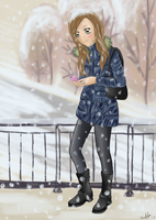 Winter by CoralinePeach