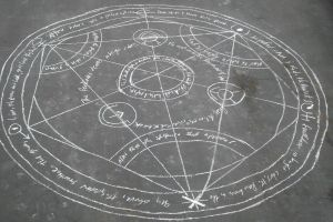 Human Transmutation Circle by PsychPurple01X