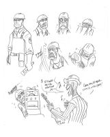 Doodles- TF2 Engineer Cries by Plumlinderdog