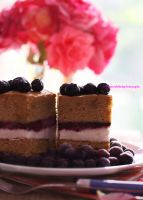 Lemon Ice-Cream Sandwiches with Blueberry Swirl by theresahelmer