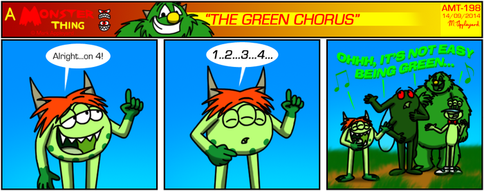 AMT - The Green Chorus by BluebottleFlyer