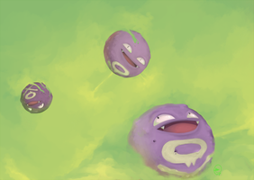 Koffing by incredibleburningman