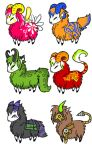 Sheep Adopts 5 by 207-Designs