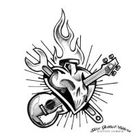 Rock n Roll Heart by SteveGolliotVillers