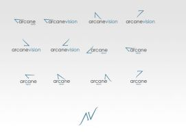 Arcane Vision - Logo by willeyh