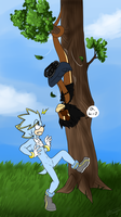 .:Sonic:. Unexpected meeting by SilverfanNumberONE