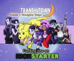Transyltown Volume 1: Moonglow Tempo Cover by ibroussardart