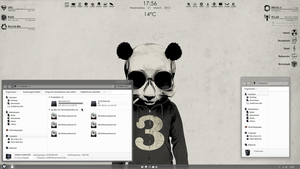 PPD | Panda Power Desktop by fuckyeahlucas