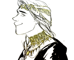 Finrod with the Nauglamir by jubah