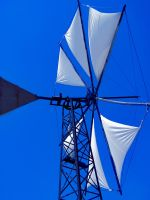 Windmill in deep blue by MyFlower06