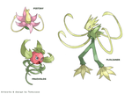 Pokemon Creation : Pistiny and evolutions by Tomycase