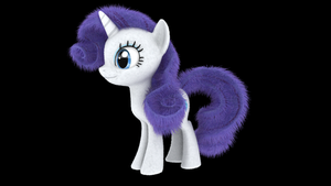 My Little Fluffies - Rarity OLD by VeryOldBrony