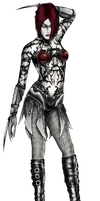 Countess of Carnage, Necro by arcanemacabre