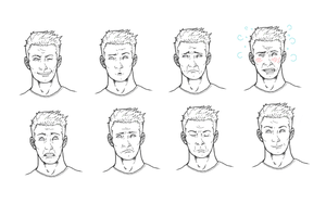 Madrox Dupes Expressions by b-dangerous