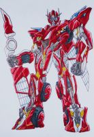 BFTE sentinel prime, after DOTM... by kishiaku