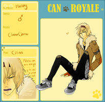 Can Royale - ChowChow by Hep-Hap