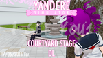 Yandere Sim. - MMD Stage Courtyard [DL] 17/05/16 by i-see-you1