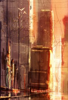 It was on the corner of Market and Van Ness by PascalCampion